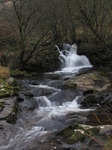 SX10738 Waterfall in Caerfanell river, Brecon Beacons National Park.jpg