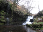 SX10754 Waterfall in Caerfanell river, Brecon Beacons National Park.jpg