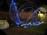 20091208 Trail of LED poi