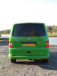 SX11143 Green Mean Camping Machine VW T5 campervan at Ogmore Castle.jpg
