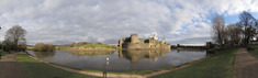SX11187-11195 Caerphilly castle reflected in frozen lake.jpg
