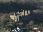 SX11935 Oystermouth Castle from Mumbles Hill.jpg