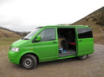SX12883 Green VW T5 campervan.jpg