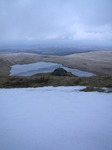 SX12933 Camping next to snow above Llyn y Fan Fawr lake.jpg