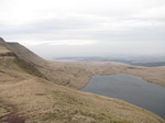 SX13018 Our tent above Llyn y Fan Fawr lake in Brecon Beacons.jpg