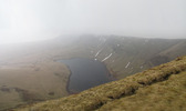 SX13122-13123 Llyn y fach lake from Waun Lefrith mountain.jpg