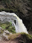 SX13564 Close up of water rushing over Sgwd Clun-gwyn waterfall.jpg