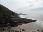 SX13908 Walk at bottom of cliffs.jpg