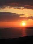 SX14078 Sunset over Porthcawl from Ogmore by Sea.jpg