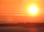 SX14079 Sunset over Porthcawl from Ogmore by Sea.jpg