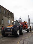 SX14126 RNLI lifeboat being pulled onto harbour slipway by tracktor.jpg