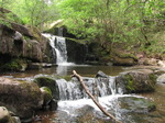 SX14434 Stepped waterfall in Caerfanell river.jpg