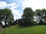 SX14571 St Quentin's Castle, Llanblethian, Cowbridge from enclosure.jpg