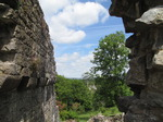 SX14701 View from gatehouse St Quentin's Castle, Llanblethian, Cowbridge.jpg