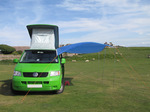 20100531 VW T5 campervan DIY awning