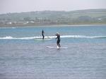 JT00932 Brad and Marijn stand up paddling (sup) on River Taw estuary.jpg