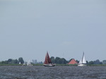 SX15062 Sailboats on Friesian lake 'De Fluezen'.jpg