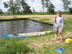 JT00987 Jenni and canoe at little island in lake 'De Fluezen', The Netherlands.jpg