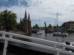 SX15249 Sailboats at Waterport in Sneek passing bridge in Lemmerweg.jpg