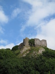 SX15890 Pennard Castle at Three Cliffs Bay.jpg