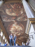 SX15894 Simon and Marieke in Painted Hall at The Old Royal Naval Collage in Greenwich, London.jpg
