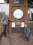 SX15953 Simon and Marieke at GMT clock at Old Greenwich Royal Observatory, London.jpg
