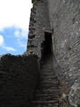 SX16123 Old castle staircase into Carreg Cennen Castle.jpg