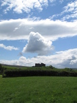 SX16199 Carreg Cennen castle from fields.jpg