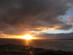 SX16463 Sunset over Porthcawl from Ogmore by Sea.jpg