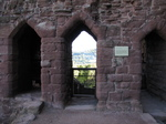 SX16625 Goodrich Castle latrine tower.jpg