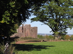 SX16700 Goodrich castle from distance.jpg