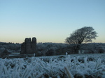 SX17088 Ogmore castle covered in frost.jpg