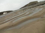 SX17212 Mini dunes from waves, Llantwit Major beach.jpg