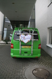 IMG_7295 Just married sign on van at gemeentehuis.JPG