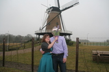 IMG_7352 Jenni and Mr Flowerhead at windmill.JPG