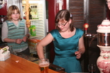 IMG_7589 Libby and Jenni behind bar.JPG