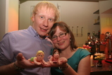 IMG_8092 Jenni and Marijn with cake figures.JPG