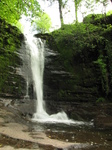 SX18217 Waterfall at Blaen y glyn.jpg