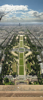 SX18383-87-89 View down Eiffel tower towards Ecole Militaire.jpg