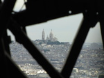 SX18461 View of Basilique du Sacre Coeur de Montmartre through structure of Eiffel tower.jpg