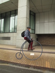 SX18761 Penny-farthing in London.jpg