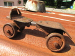 SX18813 Old rusty metal roller skate.jpg