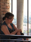 SX19194 Jenni sitting in Lamberti Tower, Verona, Italy.jpg