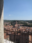 SX19217 Column and view towards Castel San Pietro from Lamberti Tower, Verona, Italy.jpg
