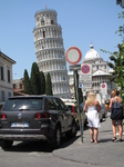 SX19755 Leaning tower of Pisa and signpost.jpg