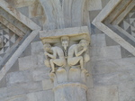 SX19767 Carving on leaning tower of Pisa, Italy.jpg