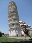 SX19774 Marijn pushing down leaning tower of Pisa, Italy.jpg