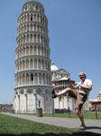 SX19777 Marijn kicking down leaning tower of Pisa, Italy.jpg