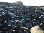 SX20058 Pebbles on beach at Llantwit Major.jpg