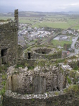 SX20452 View from Harlech castle tower.jpg